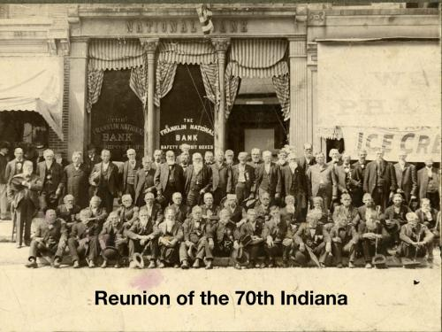 Reunion of the 70th Indiana