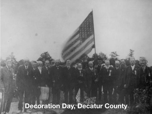 Decoration Day Decatur County Indiana