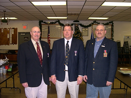 Camp Commanders 2009. (L to R) Mike Beck - Tim Beckman - Bruce Kolb.