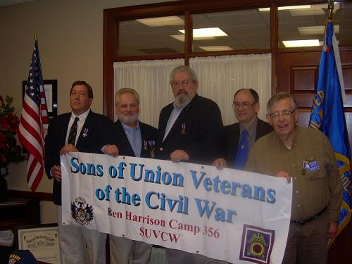 Camp Officers 12/11/10. (L to R) Tim Beckman - Garry Walls - John Bowyer - Jerry Thompson - Graham Morey.